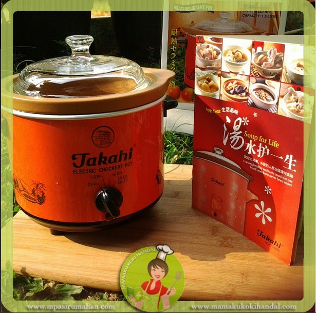 Contoh Slowcooker 1.2 L
